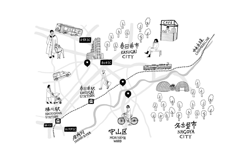 Shinがある街